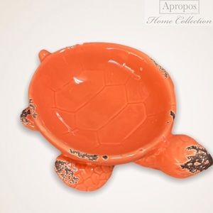 Apropos Home Collection Distressed Ceramic Turtle